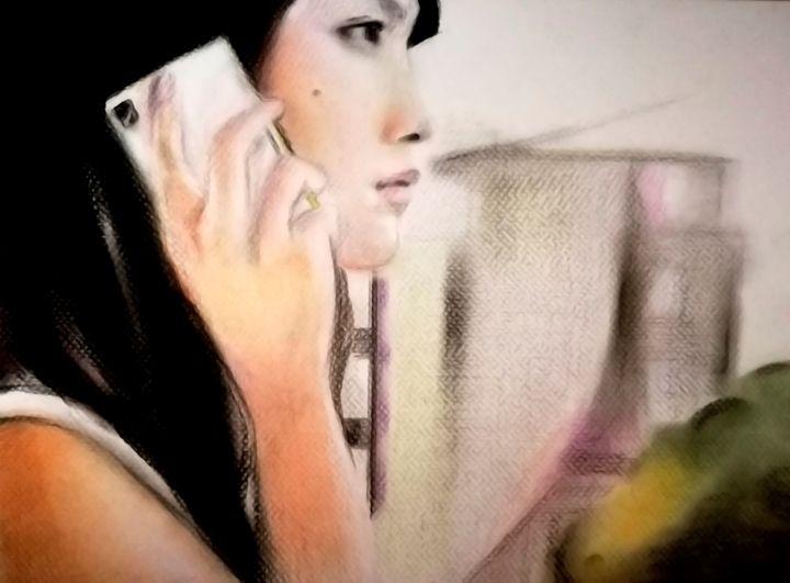 THE CALLING - Catalina Saenz Fine Art
