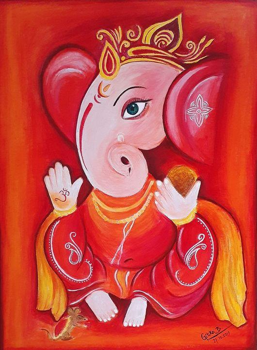 Lord Ganesha - Unrevealed Artist