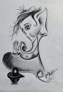 Lord Ganesha sketch