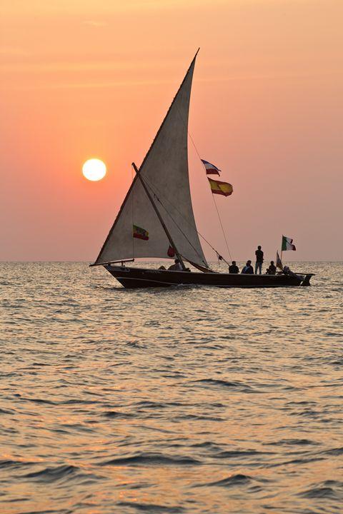 Sunset Sailing - Heatherae Photography