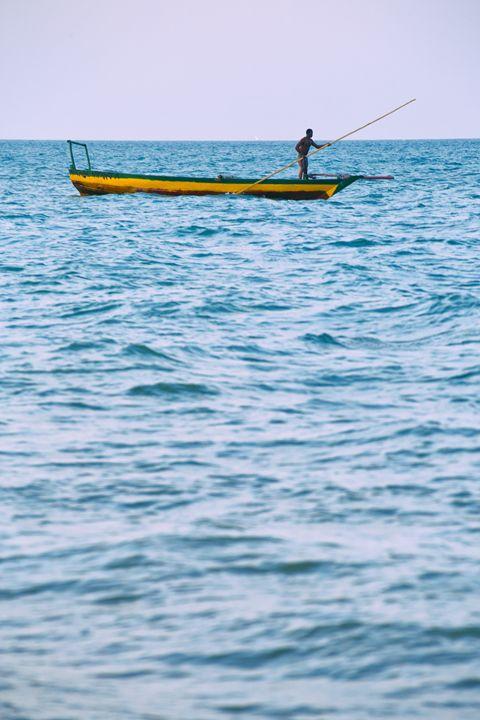 Working Man on Water - Heatherae Photography