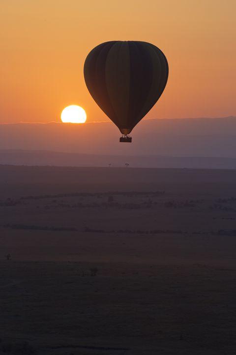 Sunrise Balloon II - Heatherae Photography