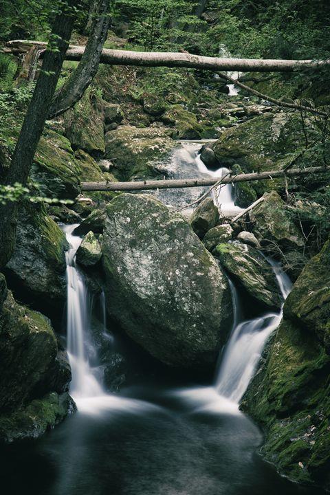 Double Falls - Heatherae Photography