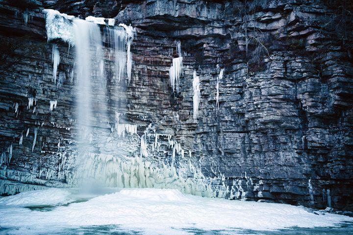 Frozen Falls - Heatherae Photography