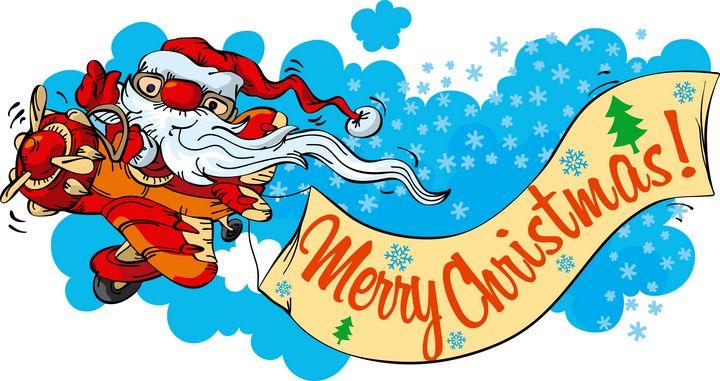 Santa Claus- pilot - aciduzzi
