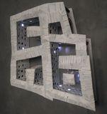 arduino ellumniated wall sculpture