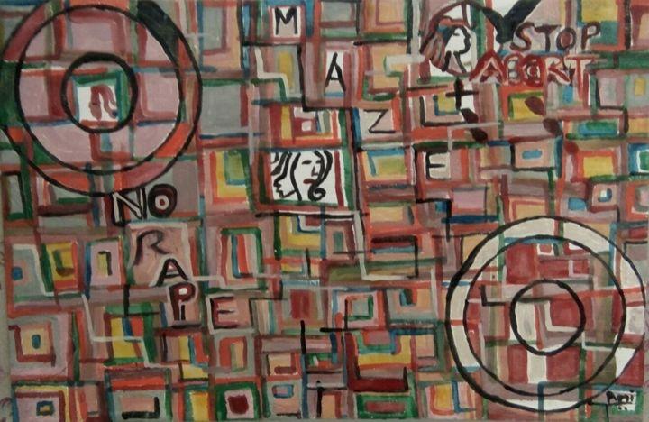 Women caught up in a Maze - Artist you will love