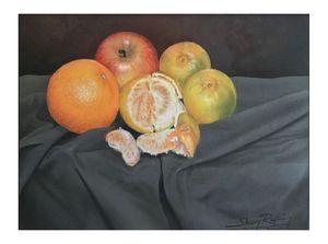 Fruits Paint
