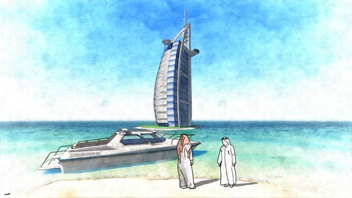 Dubai Memories - Dori's Art