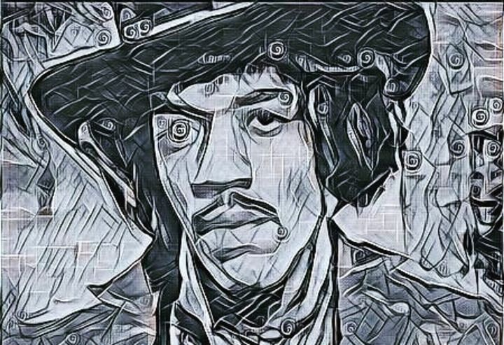 Abstract Jimi - Beautiful Stunning Art by Goodeyez
