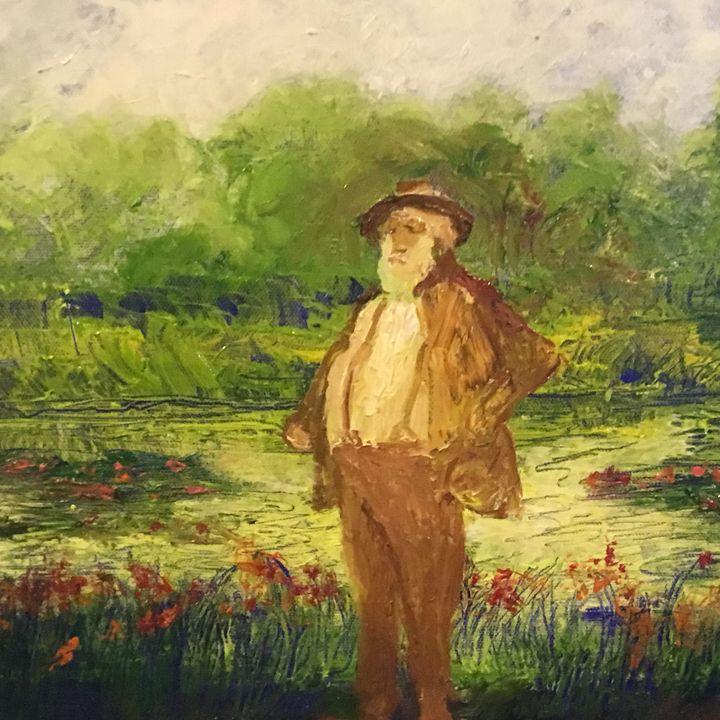 Monet's Water Lily Pond in Giverny - jujute's  Gallery de Jardin de Bonne Nouvelle