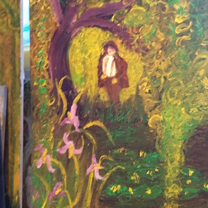 Monet The Willow Maker - jujute's  Gallery de Jardin de Bonne Nouvelle