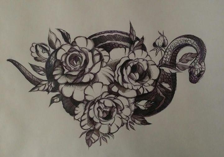 Serpent Rose - Raluca F