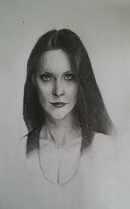 Floor Jansen Portrait - Raluca F