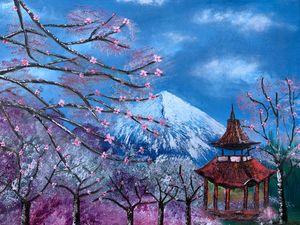 Cherry Blossom Mount FuJi