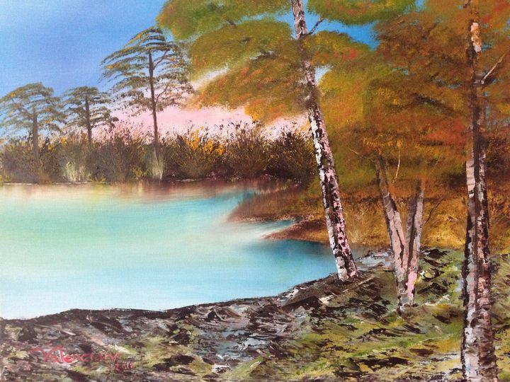 IN THE LAKE - Claudia Patricia Valenciano (Art_Hobby)