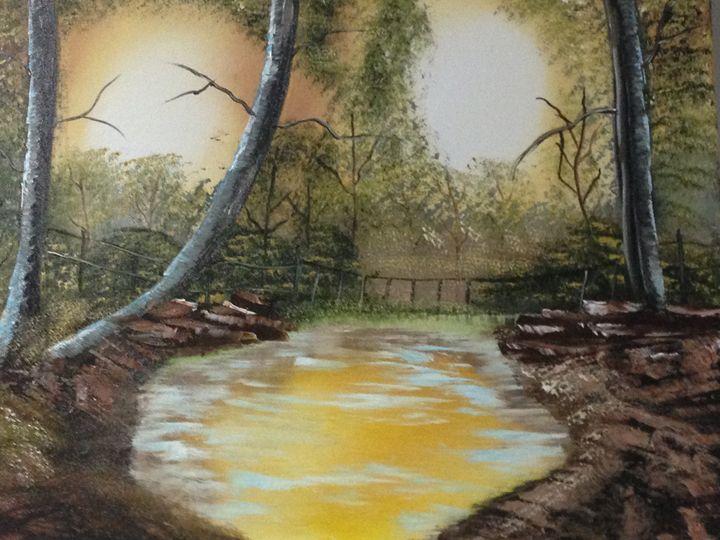 AUTUM SUNSET - Claudia Patricia Valenciano (Art_Hobby)