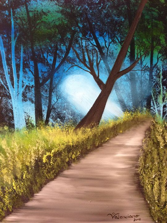 LOST IN THE FOREST - Claudia Patricia Valenciano (Art_Hobby)