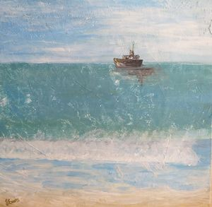 At Sea - Lorinda Evans Art