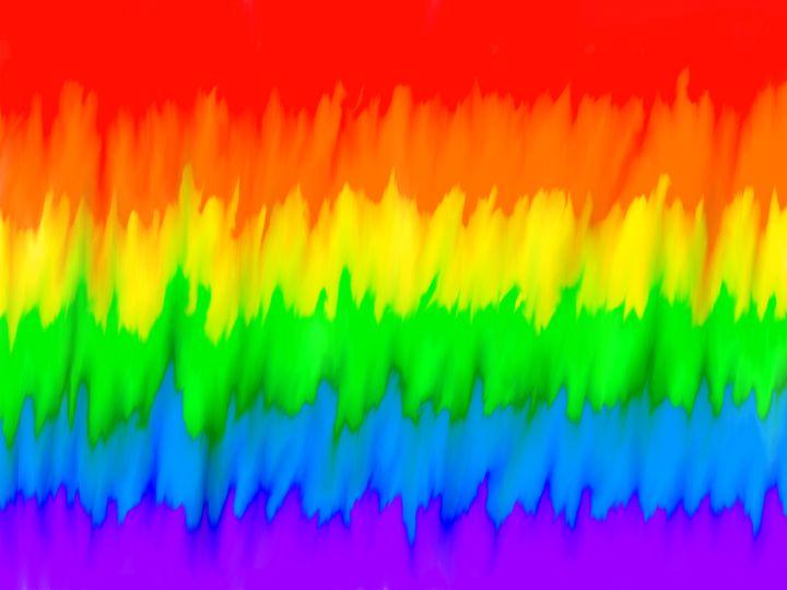 Melting Rainbow - DrainedDaisies