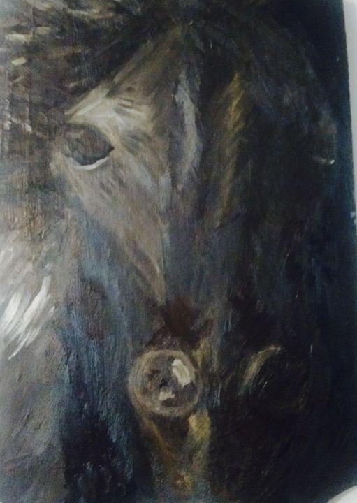 Equestrian - Spiritual Art by Laurie