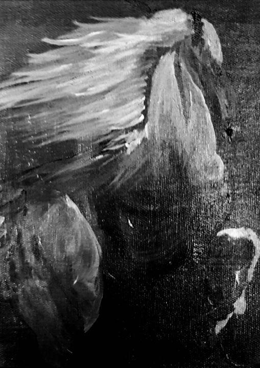 Horse Power - Spiritual Art by Laurie