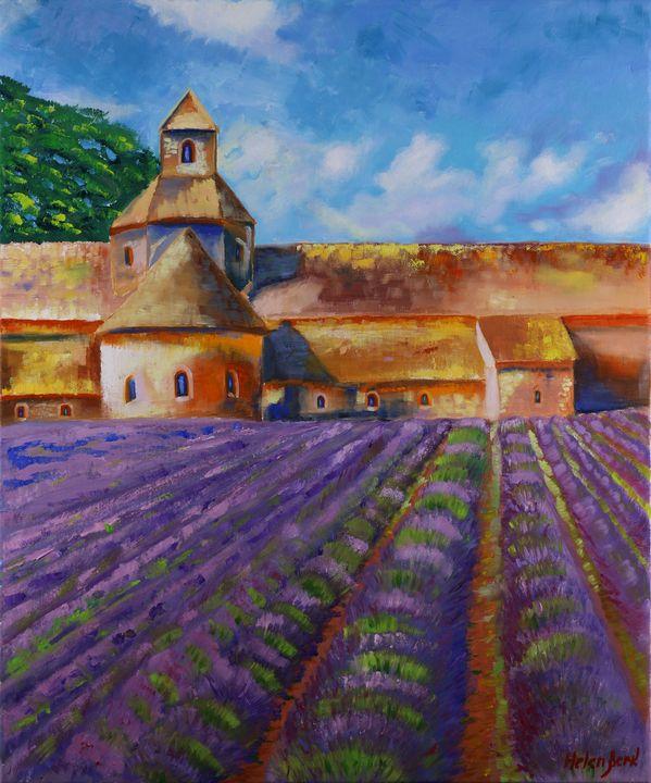 France Provence Painting - Helen Berk artwork