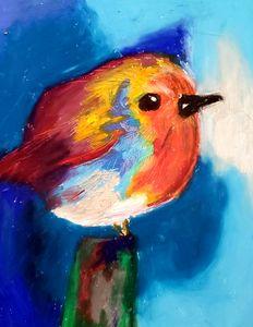 Cute Fat Bird
