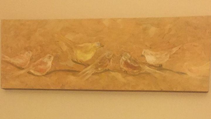 Birds on a Branch - Kani Art & Beyond