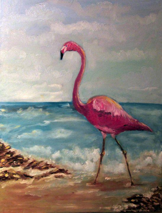 Flossie Famingo - Kani Art & Beyond