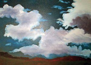 Taos,NM Summer Sky - Kani Art & Beyond