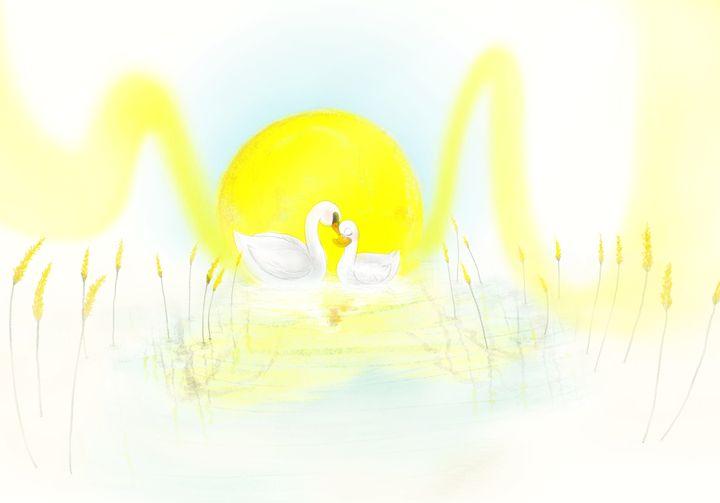 Duck & Swan - Wong Jenn Ting's Art