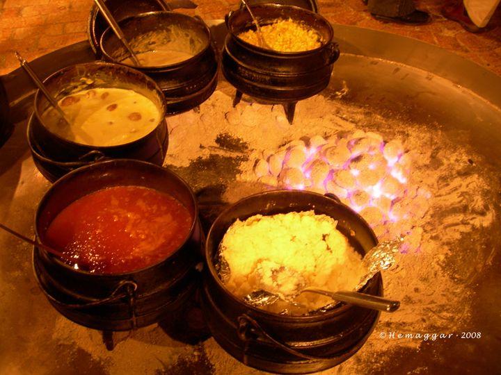 Bakubung Buffet - Hemu Aggarwal's Gallery