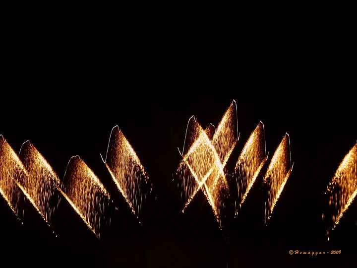 Fire in the sky - Hemu Aggarwal's Gallery