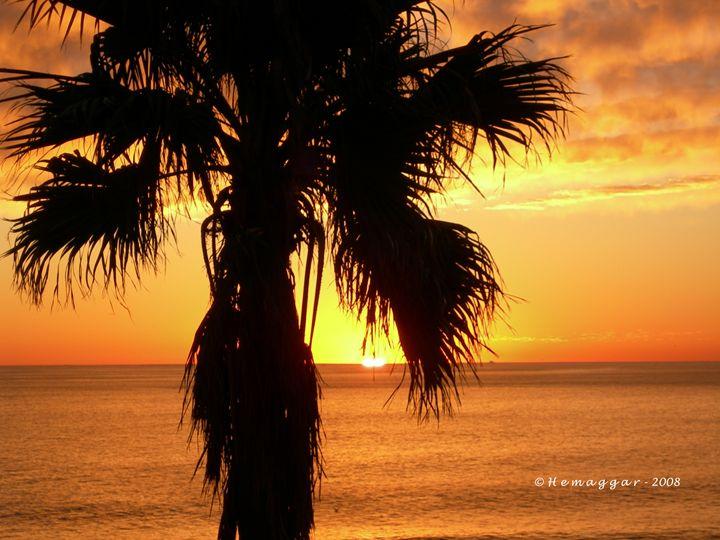Sunset in Cap Town - Hemu Aggarwal's Gallery