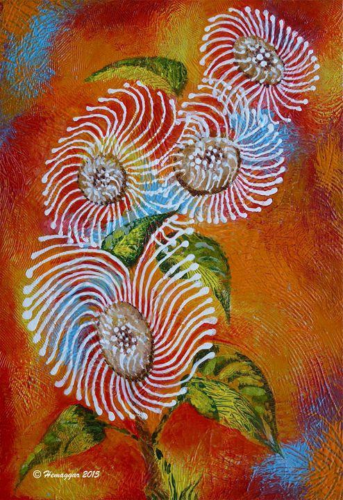 Wild Flowers - Hemu Aggarwal's Gallery