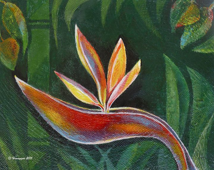 Bird of Paradise in Paradise - Hemu Aggarwal's Gallery
