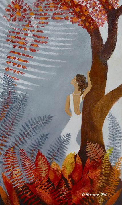 The Love Birds - Hemu Aggarwal's Gallery