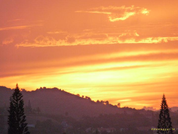 Sunset-1-in D.R. - Hemu Aggarwal's Gallery