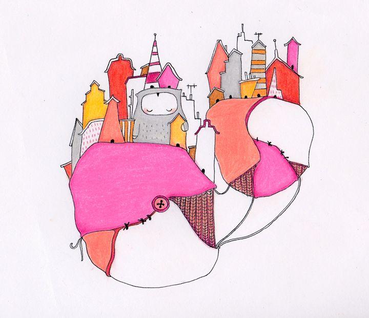 Pink city - Elizabeth Sullivan