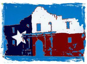 Alamo T Flag 1