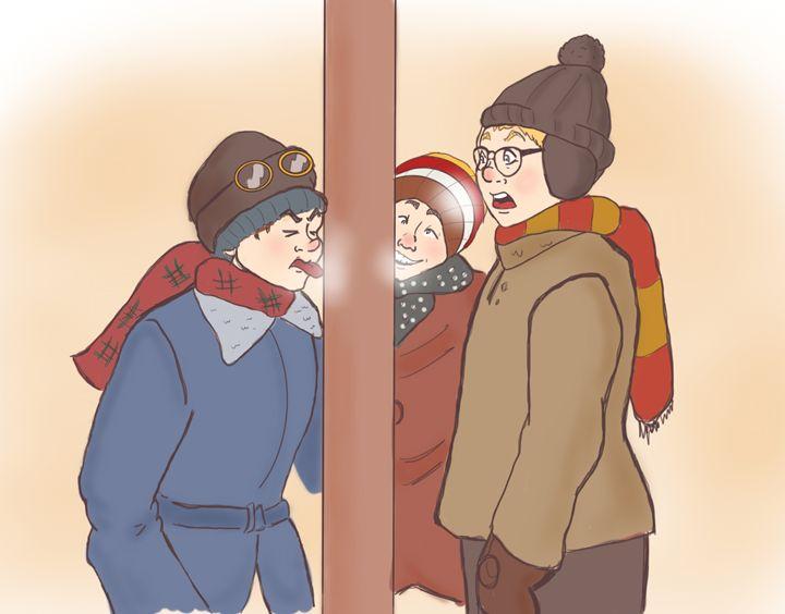 Christmas Story - MaevedMab's Gallery
