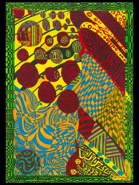 Graham Pringle 31ST Abstract Design - Graham Pringle