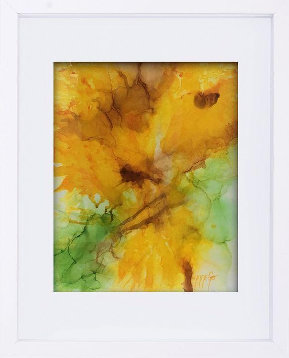 Days Of Daffodils - Lynne Godina-Orme | Australian abstract artist