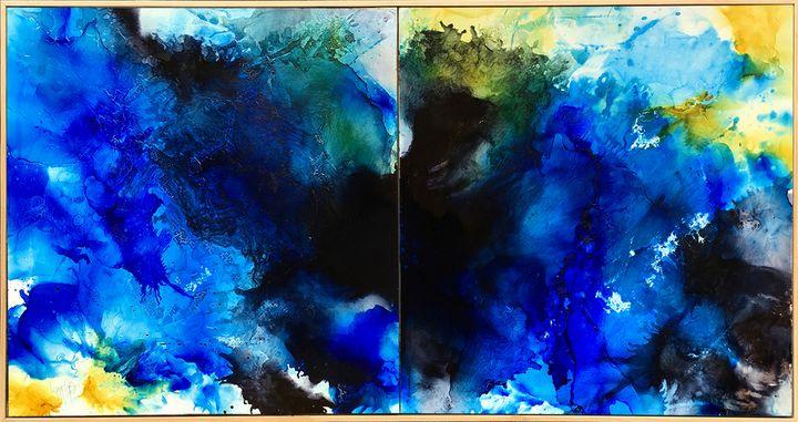 Leap Of Faith - Lynne Godina-Orme   Australian abstract artist