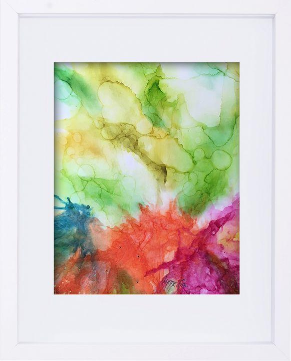 In The Garden - Lynne Godina-Orme | Australian abstract artist