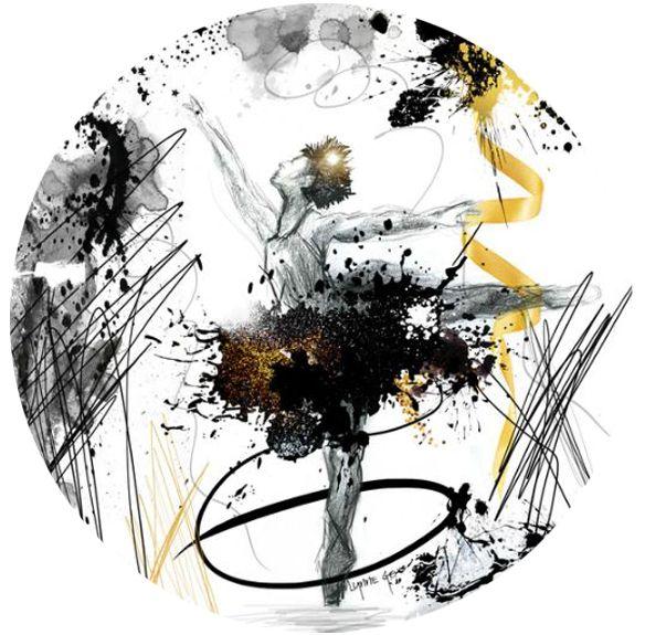 Let's Dance - Ebony - Lynne Godina-Orme | Australian abstract artist