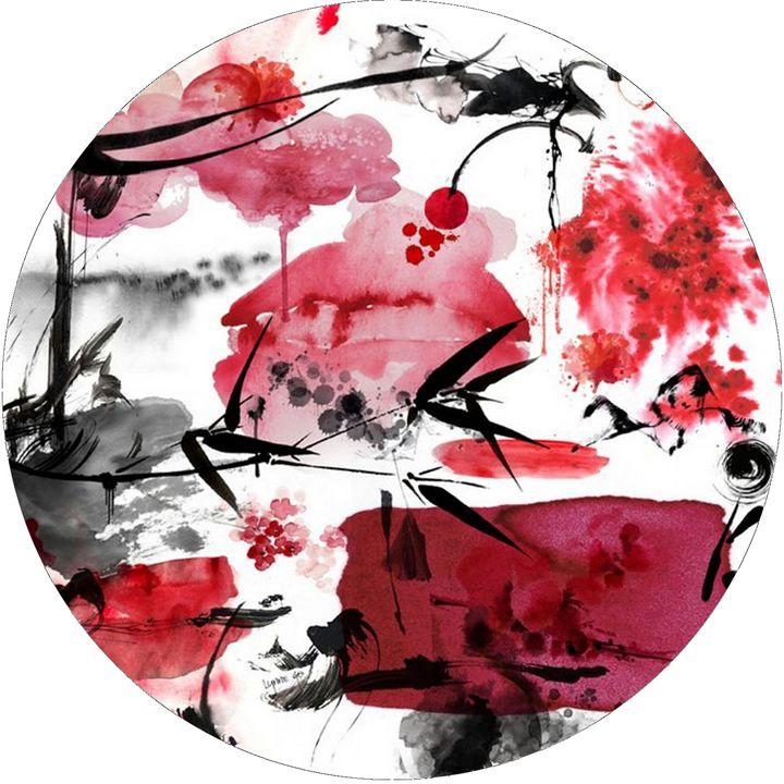 Blossom Garden - Lynne Godina-Orme | Australian abstract artist