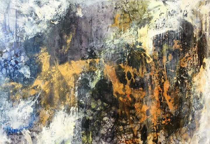 Full Steam Ahead - Lynne Godina-Orme | Australian abstract artist