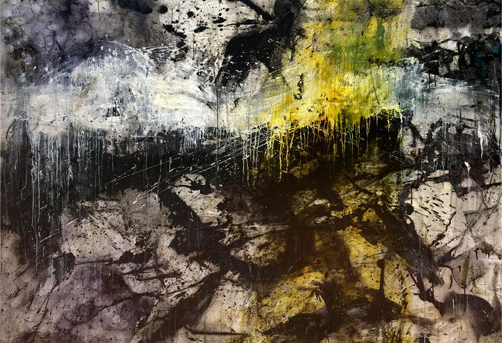 Find Your Light - Lynne Godina-Orme   Australian abstract artist